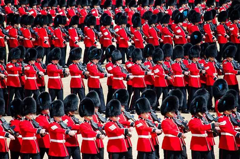 British Army Soldiers in Aldershot, Hampshire