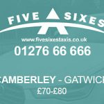 Camberley to Gatwick Taxi Fare