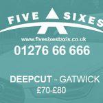Deepcut to Gatwick Taxi Fare