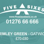 Frimley Green to Gatwick Taxi Fare