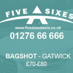 Bagshot to Gatwick Taxi Fare