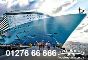 Cruise ship transfer service