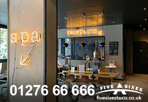 Hotel Transfer Service 01276 66666 Five Sixes Taxis