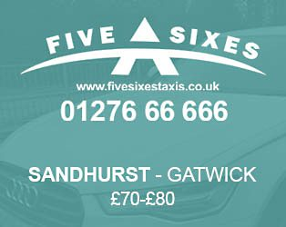 Sandhurst to Gatwick Taxi Fare