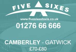 Transfer Service Offer in Camberley